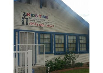 Riverside preschool Kids Time Montessori