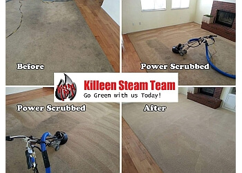 Killeen carpet cleaner Killeen Steam Team