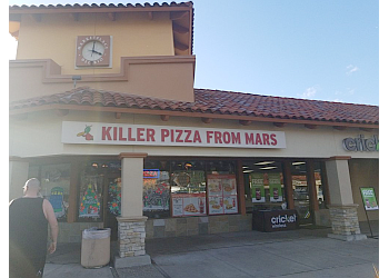 Oceanside pizza place Killer Pizza From Mars