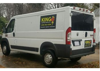 Greensboro electrician King Electrical Services, INc.