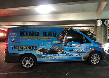 Las Vegas locksmith King Key Locksmith