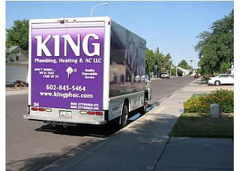 Tempe plumber King Plumbing, Heating & AC LLC