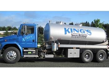 Salem septic tank service King's Pumping Service