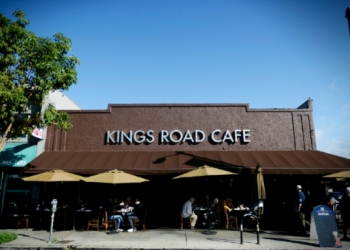 Los Angeles cafe Kings Road Cafe