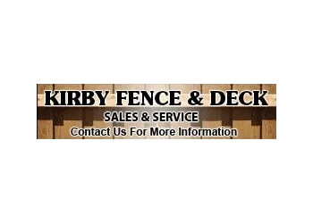 Huntsville fencing contractor Kirby Fence & Deck