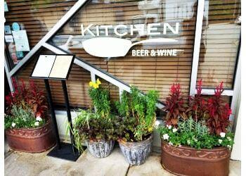Durham french restaurant Kitchen