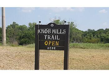 Irving hiking trail Knob Hills Bike Trail