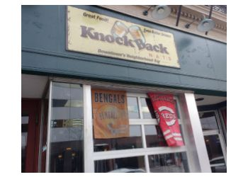 Cincinnati sports bar Knockback Nat's Neighborhood Bar