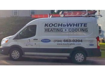 Ann Arbor hvac service Koch & White Heating and Cooling