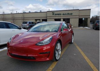 Grand Rapids auto body shop Koenes Auto Body Inc.