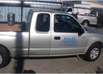San Francisco hvac service Kohler Heating