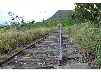 Honolulu hiking trail Koko Crater Trail