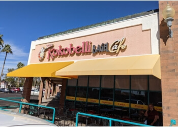 Mesa bagel shop Kokobelli Bagel Cafe