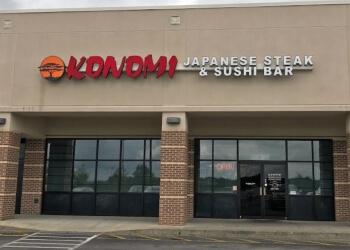 Birmingham japanese restaurant Konomi Japanese Steak and Sushi Bar