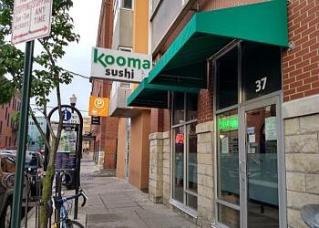 Columbus sushi Kooma Sushi