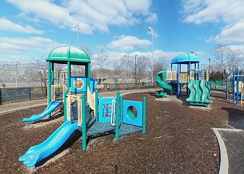 Stamford public park Kosciuszko Park