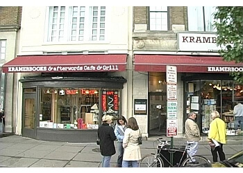 Washington cafe Kramerbooks & Afterwords Cafe