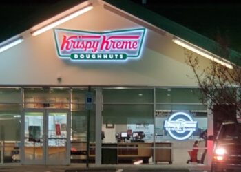 Raleigh donut shop Krispy Kreme Doughnuts
