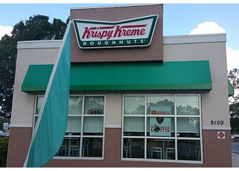 St Petersburg donut shop Krispy Kreme Doughnuts