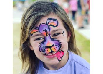 Newport News face painting Kristy's Art World