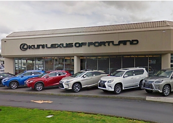 Portland car dealership Kuni Lexus of Portland