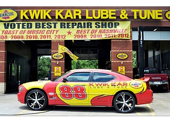 Nashville car repair shop Kwik Kar Lube & Tune