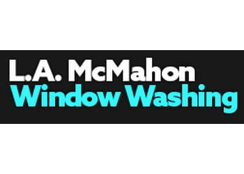 Naperville window cleaner L.A. McMahon Window Washing