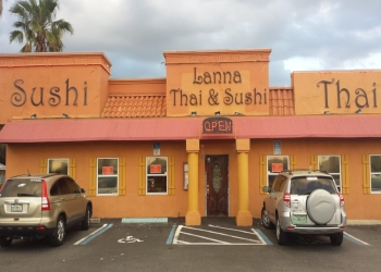 St Petersburg thai restaurant LANNA THAI & SUSHI RESTAURANT