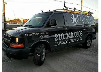 San Antonio security system LAW Security