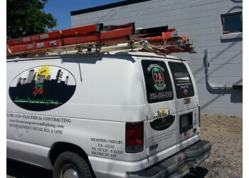 Nashville electrician LA's Custom Power and Lighting Co.
