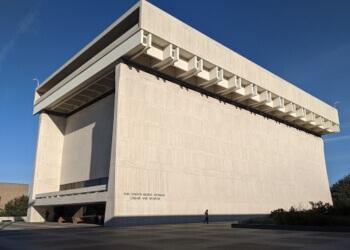 Austin landmark LBJ Presidential Library