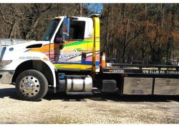 Durham towing company Lemon's Wrecker Service