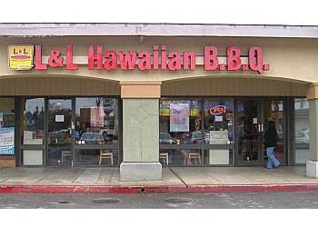 Stockton barbecue restaurant L & L Hawaiian BBQ