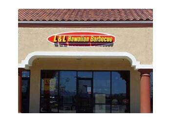 Reno barbecue restaurant L & L Hawaiian Barbecue