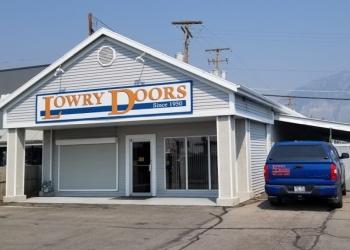 Provo garage door repair LOWRY OVERHEAD DOORS