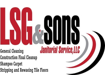 Shreveport commercial cleaning service LSG and Sons Janitorial Services