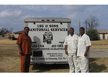 Shreveport commercial cleaning service LSG and Sons Janitorial Services LLC