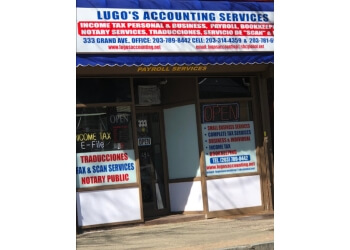 New Haven accounting firm LUGO AND BORRERO LLC.