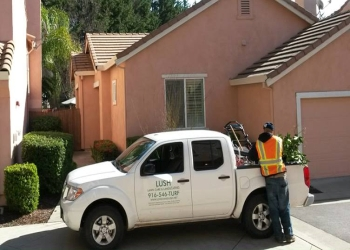Sacramento lawn care service LUSH LAWN CARE AND LANDSCAPING