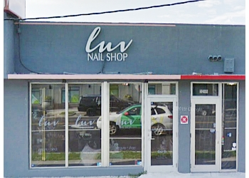 Miami nail salon LUV NAIL SHOP