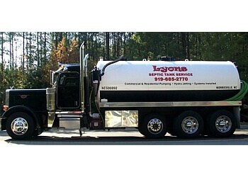 Cary septic tank service LYONS SEPTIC TANK SERVICE