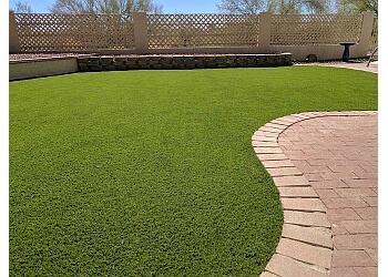 Tucson lawn care service La Cholla Landscaping