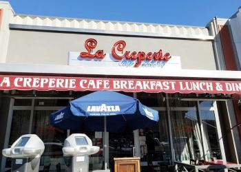 Long Beach french restaurant La Creperie Cafe