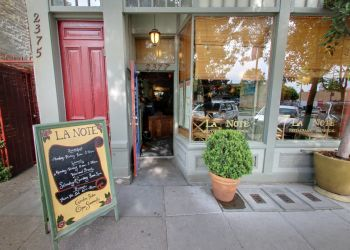 Oakland french cuisine La Note