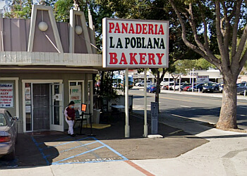 Orange bakery La Poblana Bakery