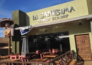 La Santisima Gourmet Taco