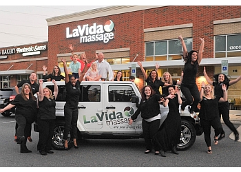 Raleigh massage therapy LaVida Massage