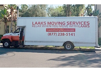 Irvine moving company Laaks Moving Services