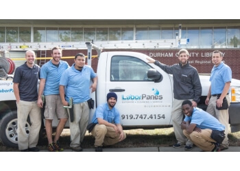 Durham window cleaner Labor Panes