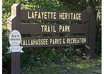 Tallahassee hiking trail Lafayette Heritage Trail Park